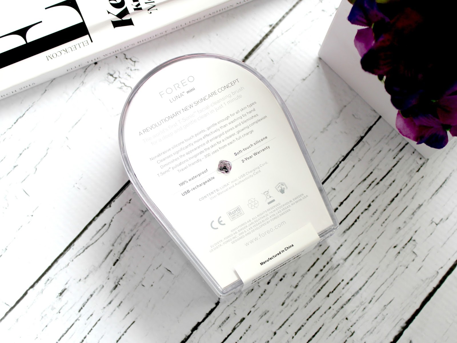 Foreo Luna Mini Review Couture Girl 2 So The First Thing I Have To Mention About Is Packaging Unlike Cleansing Brushes That Can Be Quite Bulky And Heavy