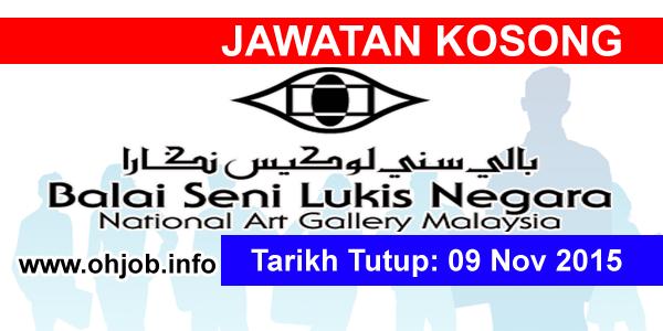Jawatan Kerja Kosong Lembaga Pembangunan Seni Visual Negara (LPSVN) logo www.ohjob.info november 2015