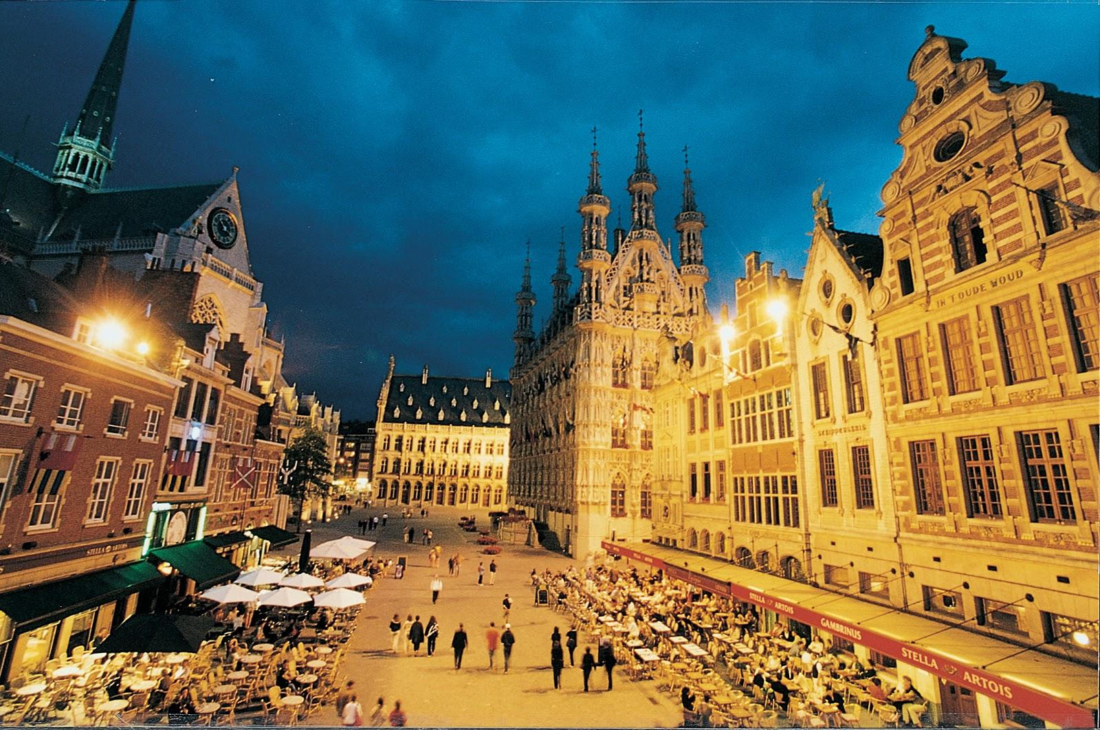 Leuven Belgium  city photo : Landscape: The Top Ten Tourist Attractions of Belgium