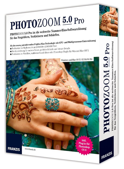 PhotoZoom Pro v5.0.4 Español + Portable Descargar 2012