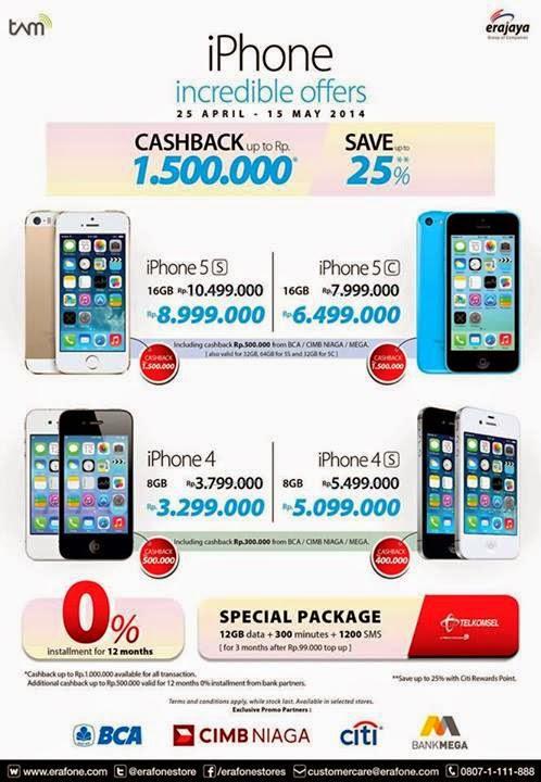 Promo iPhone di Erafone