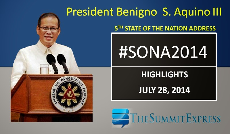 President Aquino SONA 2014 highlights