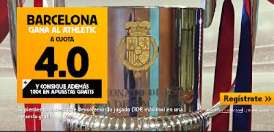 betfair Barcelona gana Athletic super cuota 4 Final Copa Rey 30 mayo