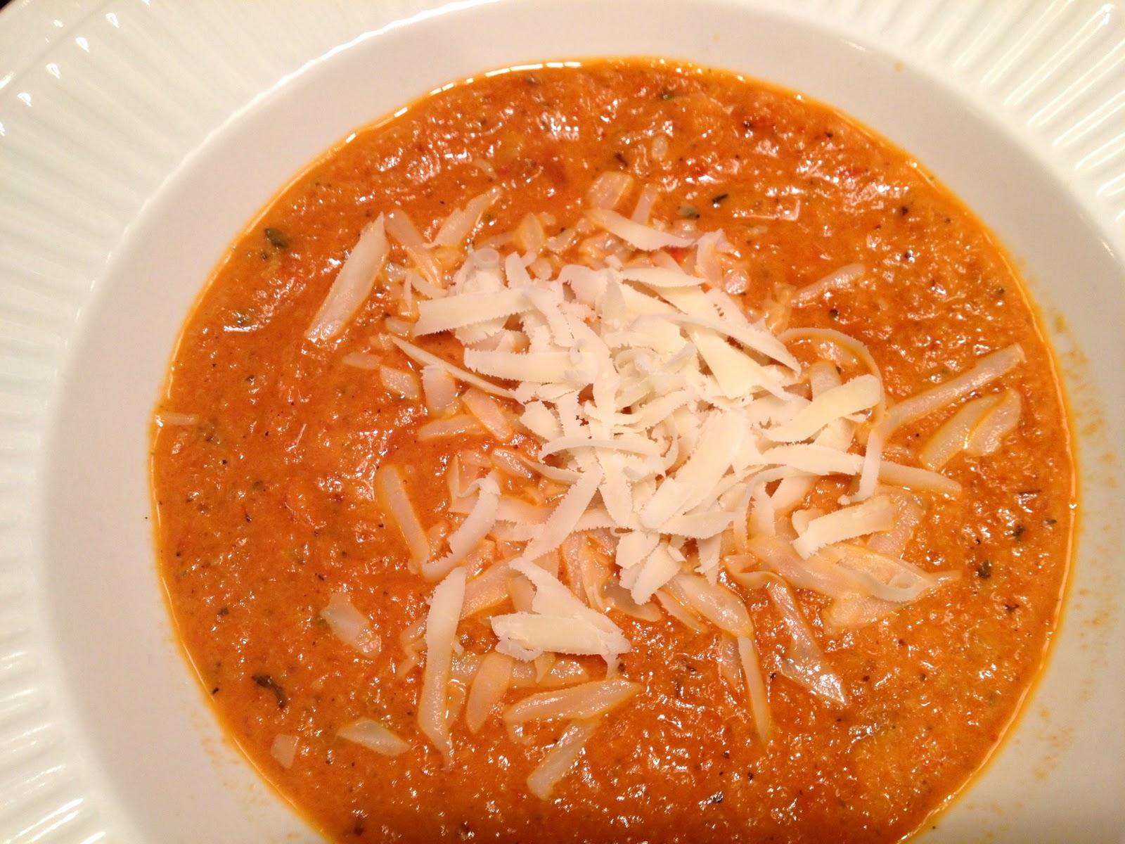 Call Me Mrs. Rapp: Tomato Artichoke Soup