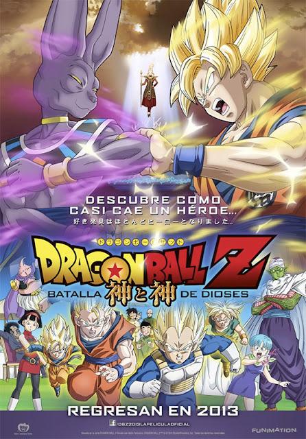 DRAGON BALL Z: BATALLA DE DIOSES (2013) ONLINE