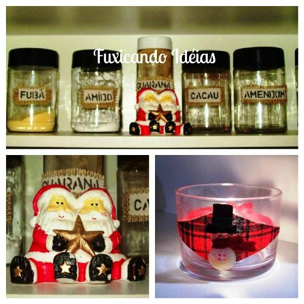 decoracao cozinha natal:Fuxicando Ideias: Decoração de Natal – Minha Cozinha