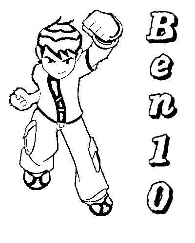Dibujo Ben 10 para Colorear - Ben 10 Blog