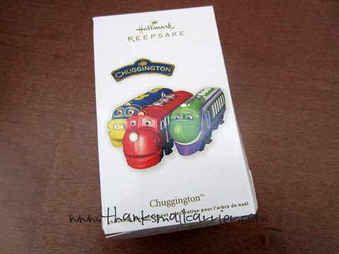 Chuggington ornament