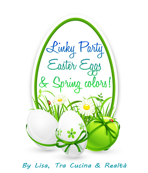 Linky Party Easter Eggs & Spring Colours