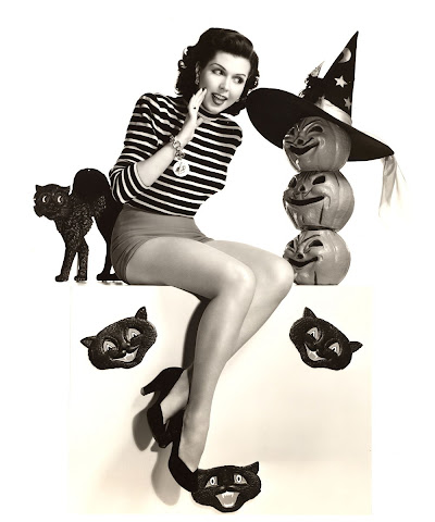 Ann Miller Halloween witch