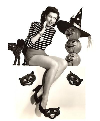 Ann Miller Halloween witch