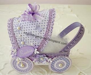 Lembrancinha carrinho de bebê