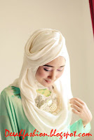 Jilbab Ramadhan Rose ala Dian Pelangi Trend Jilbab 2013
