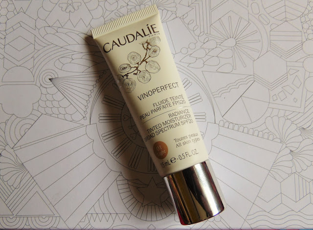 birchbox may review free your mind Caudalie vinoperfect radiance tinted moisturiser