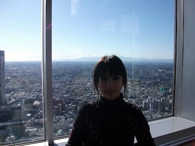 Vista de Tokyo desde un rascacielos