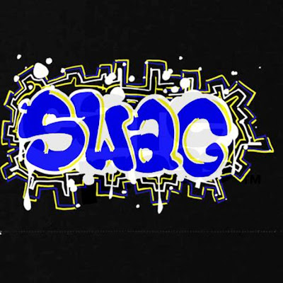 """Swag"" Graffiti Letter 