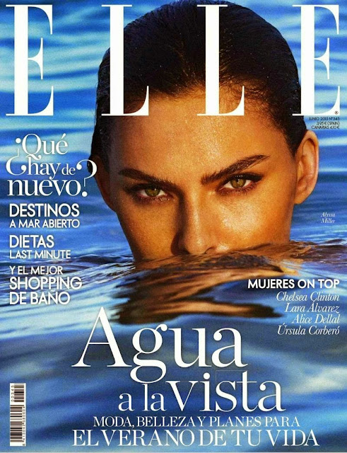 Fashion Model @ Alyssa Miller for ELLE Spain, June 2015