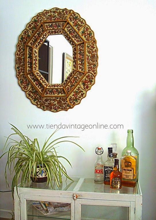 Decorar con espejos vintage, colores vivos, espejos con aire oriental y de estilo marroquí.