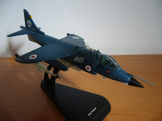 maqueta en miniatura a escala 1:100 Sea Harrier