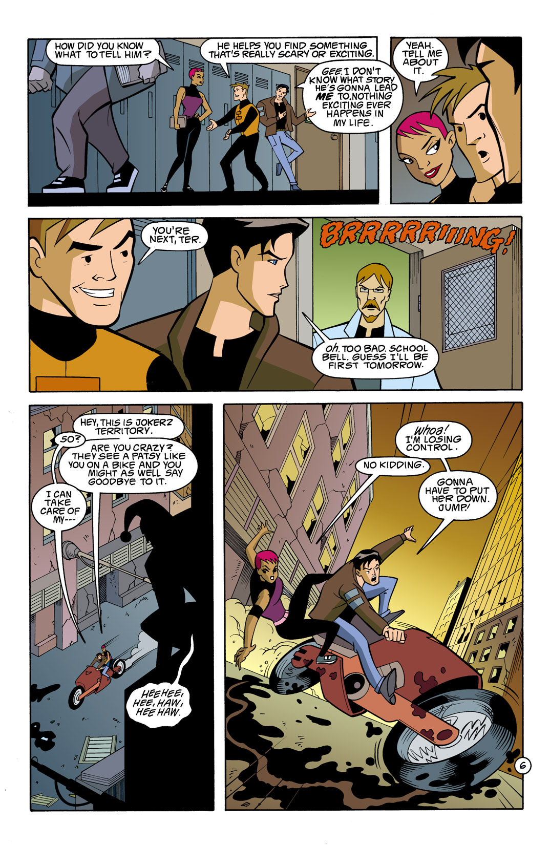 Batman Beyond [II] Issue #7 #7 - English 7
