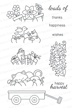 Wagon of Wishes Stamp set by Newton's Nook Designs