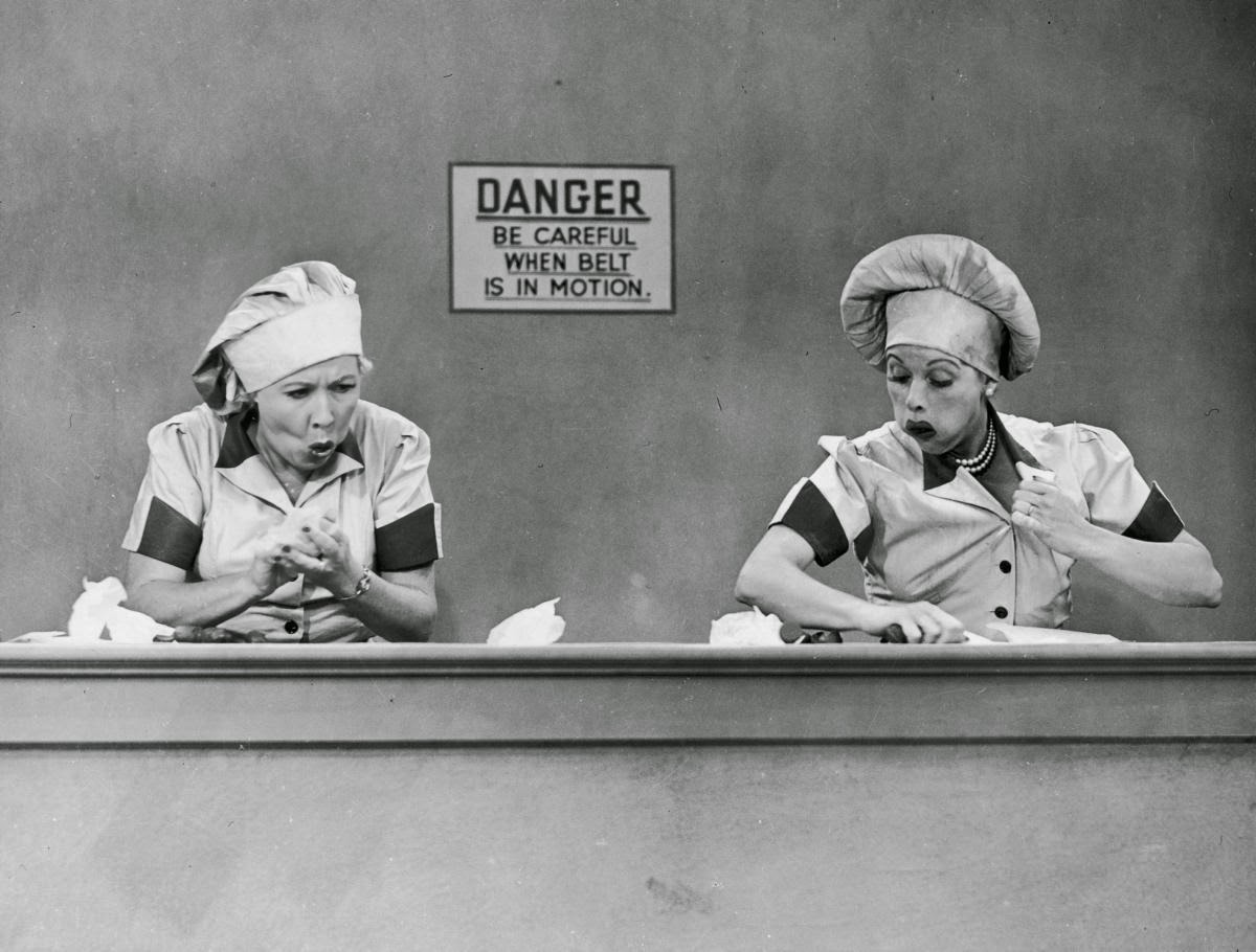 "Photo ""I Love Lucy"" Desilu Productions"
