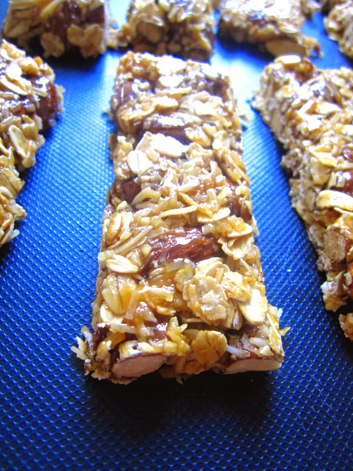 Coconut Almond Granola Bars