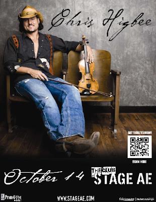 Chris Higbee, Stage AE, Pittsburgh