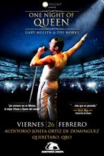 ONE NIGHT OF QUEEN 26 FEB QRO. BOLETOS www.eticket.mx