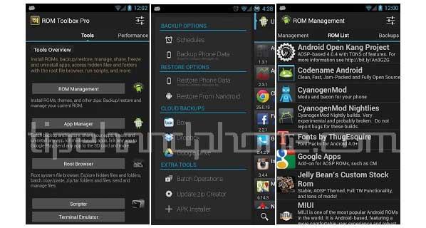 Aplikasi Mempercepat Android Room Toolbox