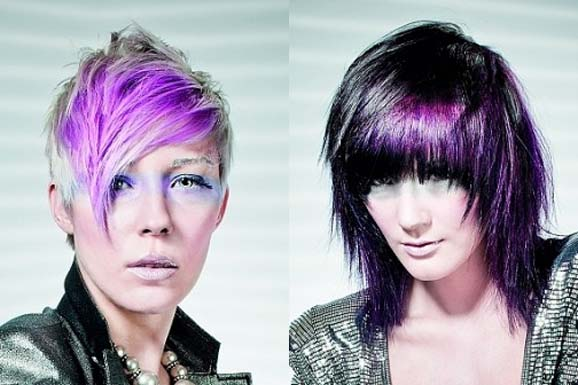 Latest Short Hair Colour Ideas 2013  2014  Wallpaper Hd