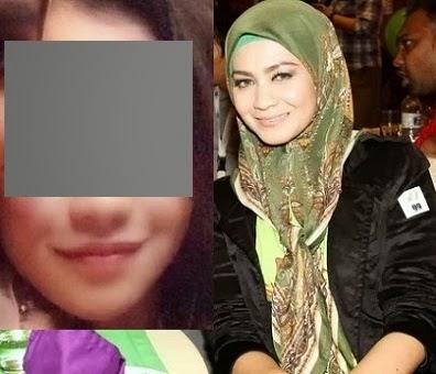 6 Gambar wajah sebenar anak dara Saida Taruddin kakak Siti Nurhaliza