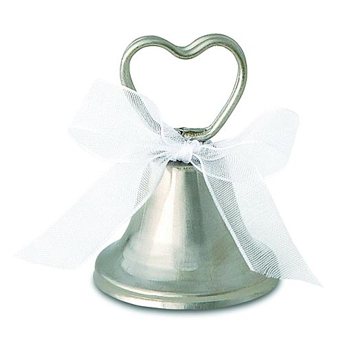 wedding bell place card holders wedding favors in one