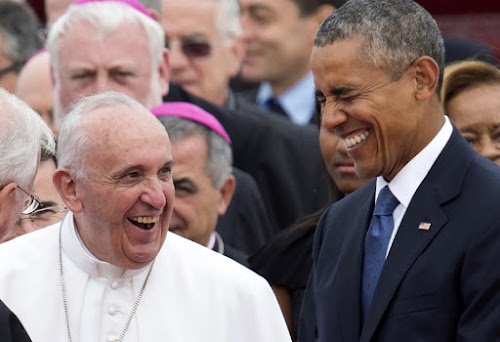 Pope Francis arrives for historic first US visit