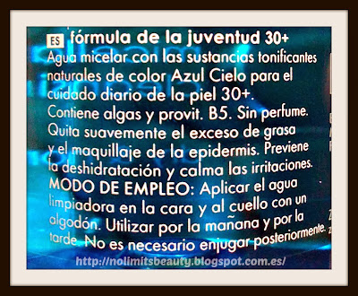 Ziaja - Agua Micelar - Marine Algae Spa - detalle