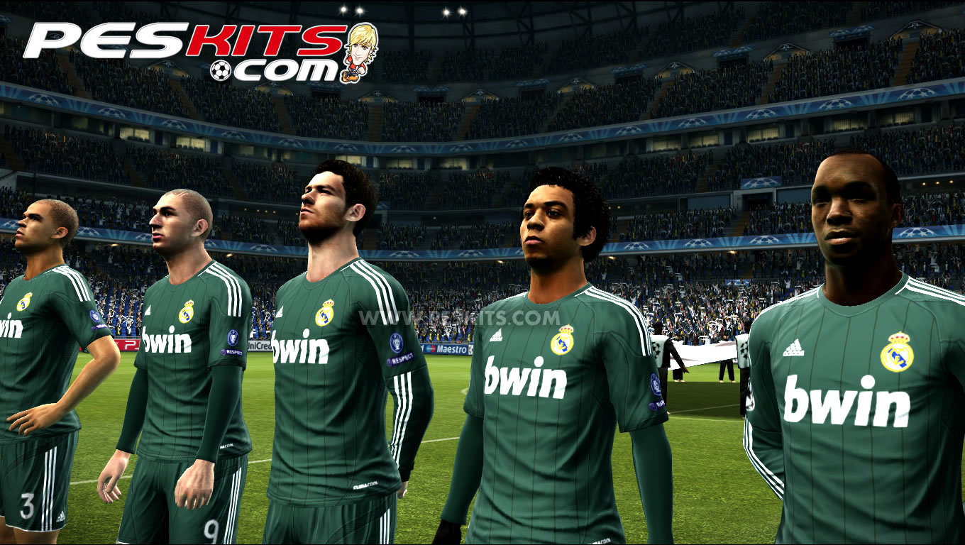 04 Kits by edxz101 , PES 2012 , Real Madrid No comments