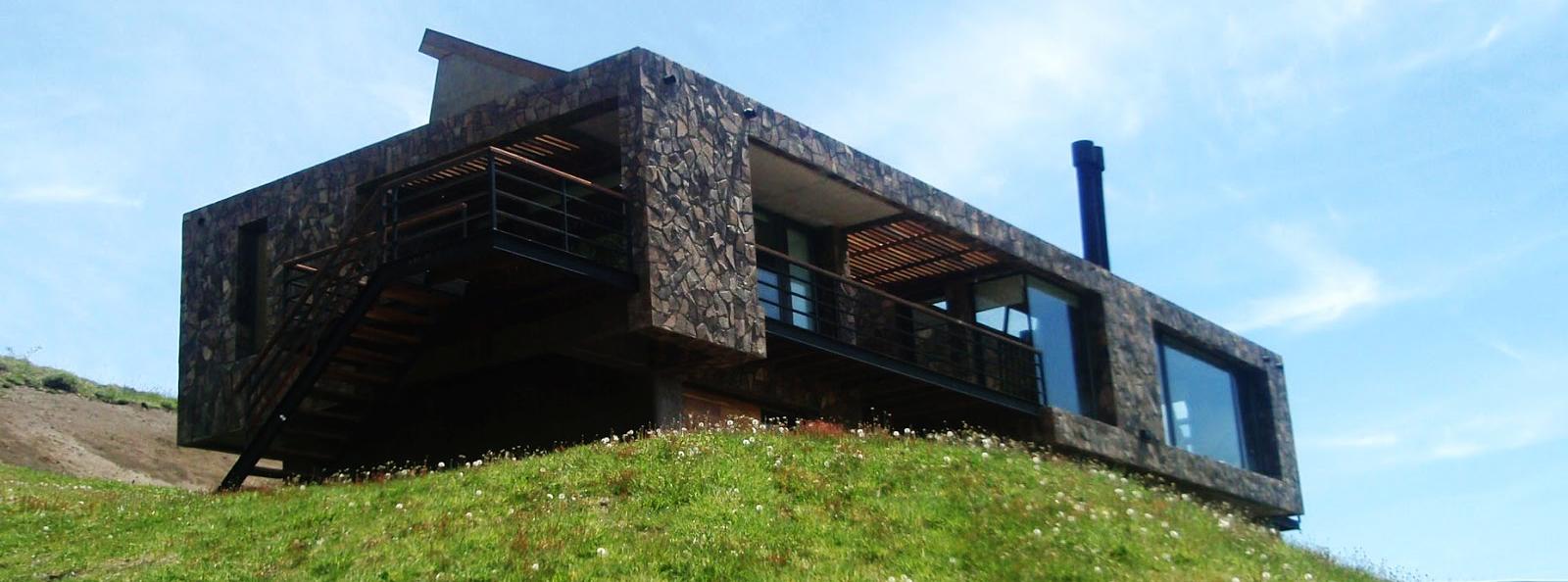 Arquitectos patagonia arquitectura san mart n de los for Casa de campo arquitectura