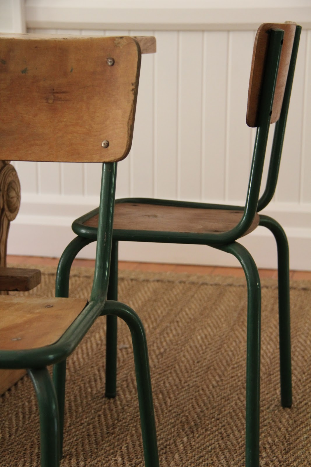Vintage Finds In Store Now French School Chairs
