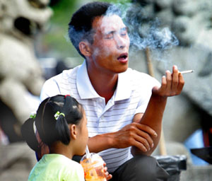 Second Hand Smoke Children