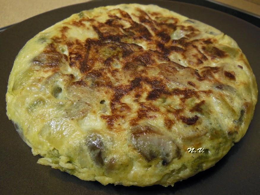 La cocina de natibel tortilla de cebolla calabac n y - Tortilla de calabacin y cebolla ...