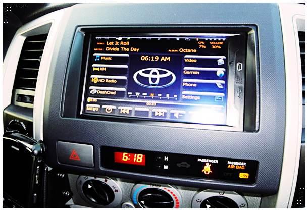 2016 Toyota Tacoma JBL Stereo