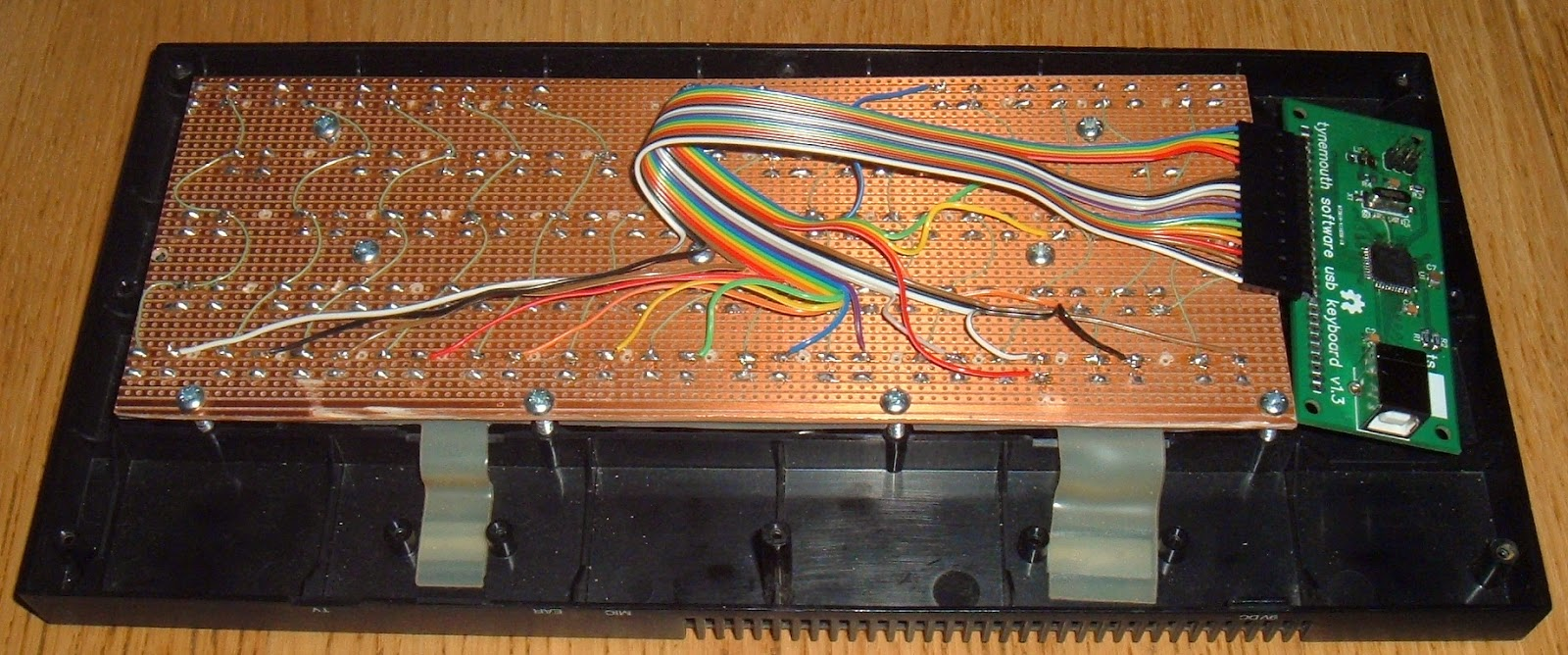 Tynemouth Software August 2014 Tact Switch Wiring I Installed The 58 Switches As Close Could To Positions Of Holes