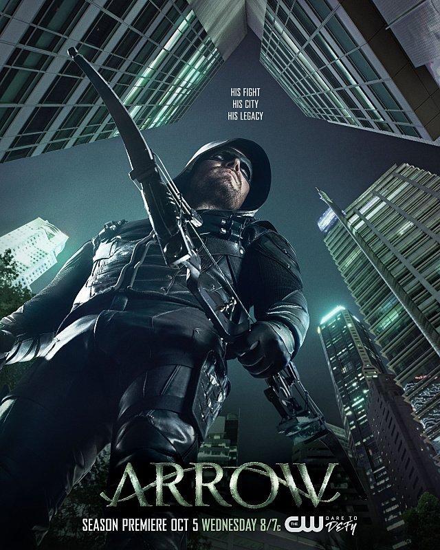 Arrow 5ª Temporada Torrent - WEB-DL/HDTV 720p Dual Áudio