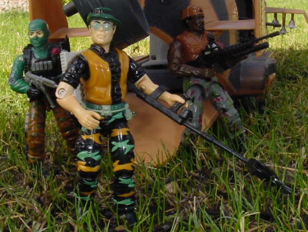 1990 Pathfinder, Ambush, 1991 Rampart, 1986 Beach Head, Tomahawk, 1998 Heavy Duty