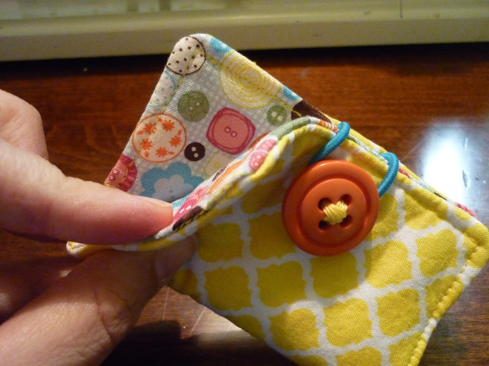 The Handy Dandy Helper: Designer Fabric Business Card Holders