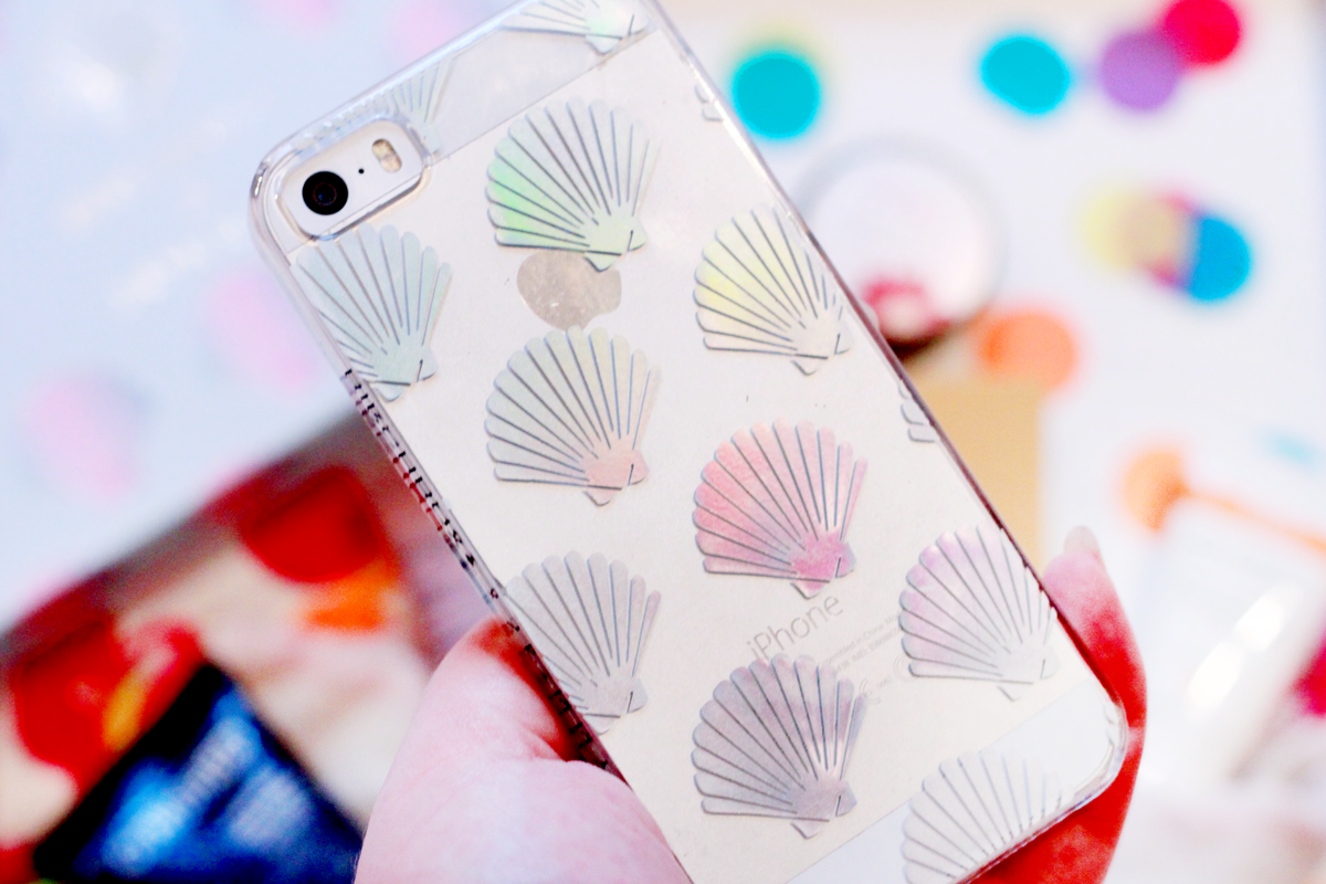 Birchbox Skinnydip Mermaid Shell Phone Case