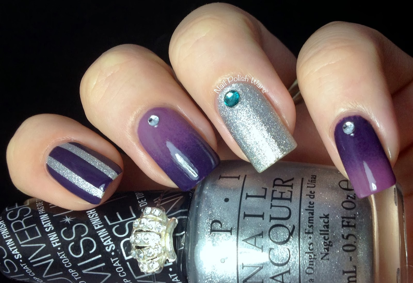 Nail Polish Wars: OPI Miss Universe Swatch, Review & Design