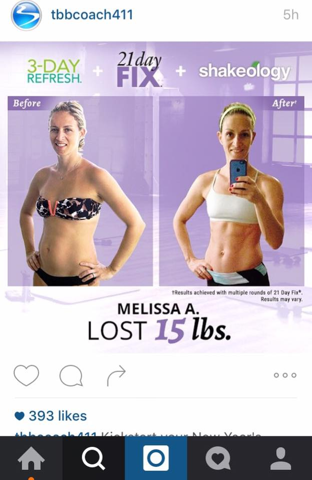 My transformation with the 21 Day Fix