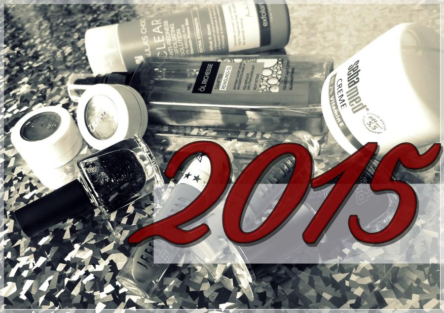 Jahresrückblick 2015 Beautyblog