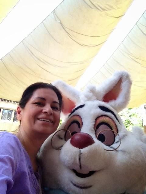 The White Rabbit and I LR
